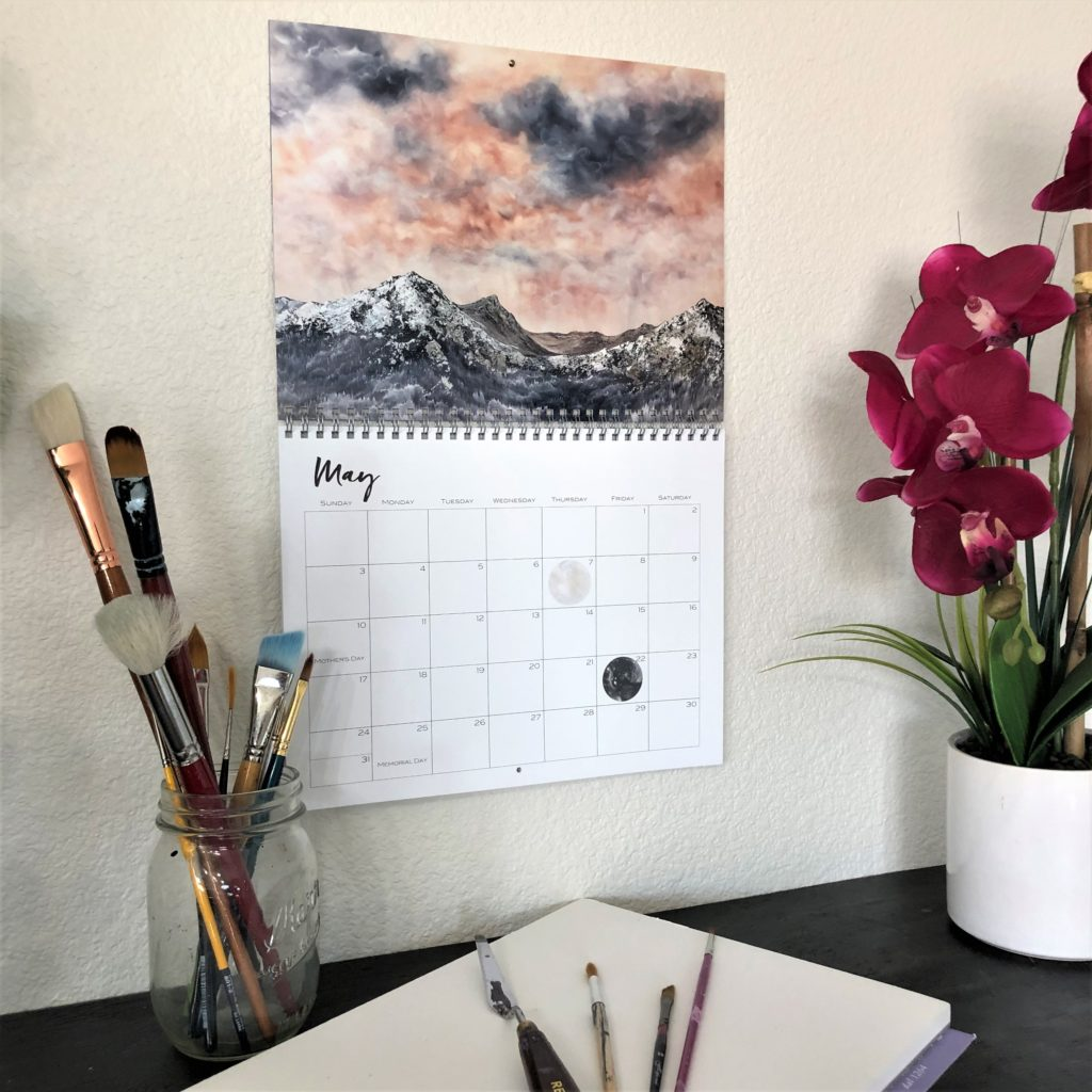 Nature Art Calendar by Emily Magone