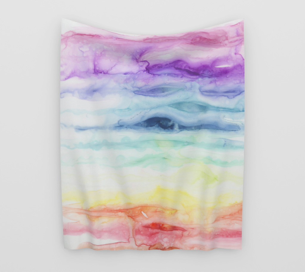 Chakras Tapestry by Emily Magone