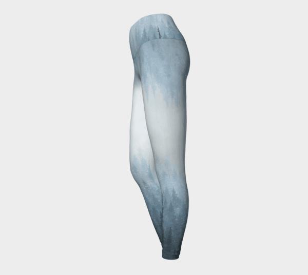 Leggings Ombre Blue Forest Leggings 3