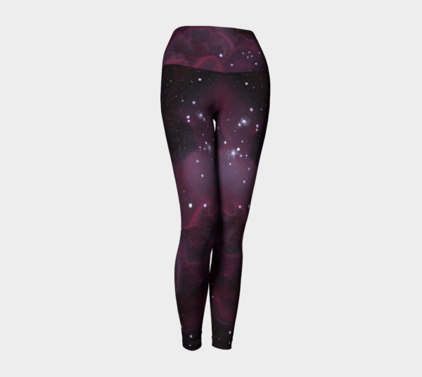 Leggings Purple Galaxy Leggings 6