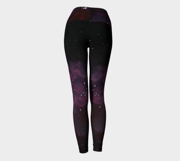 Leggings Purple Galaxy Leggings 8