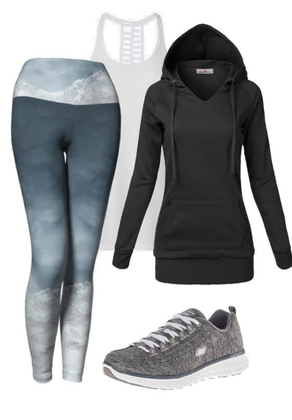 Leggings Silver Mountain Leggings Outfit Ideas 1