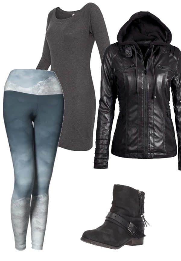 Leggings Silver Mountain Leggings Outfit Ideas 2 1