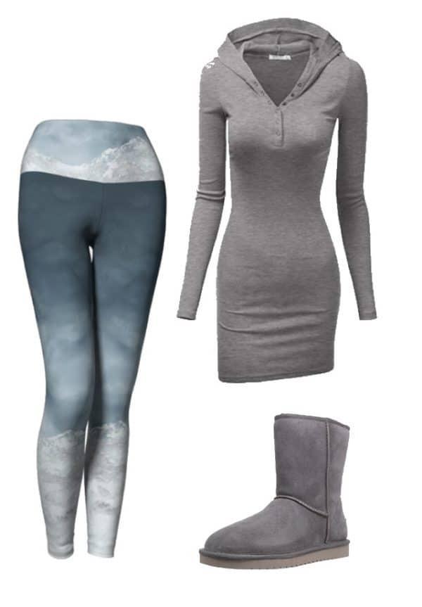Leggings Silver Mountain Leggings Outfit Ideas 3 1