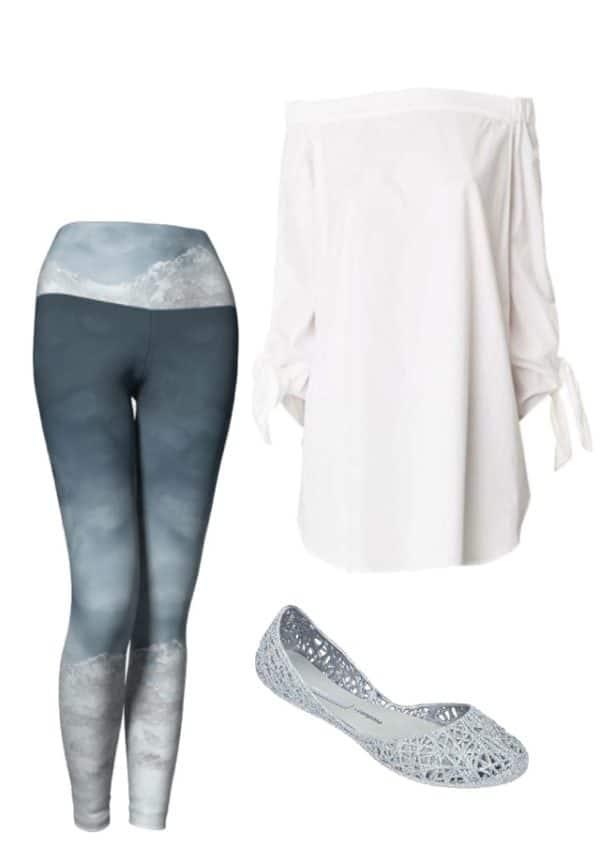 Leggings Silver Mountain Leggings Outfit Ideas 4