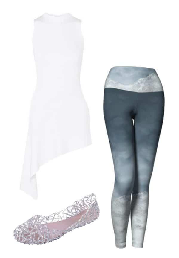 Leggings Silver Mountain Leggings Outfit Ideas 5
