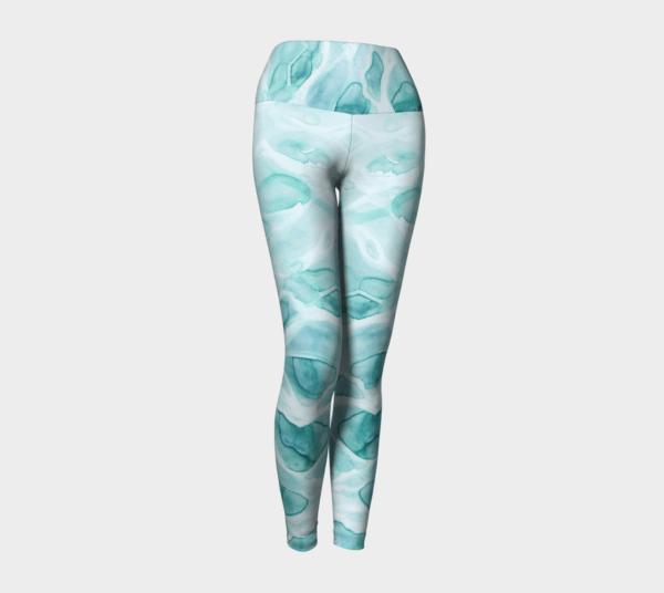 Leggings Watercolor Sea Leggings 2
