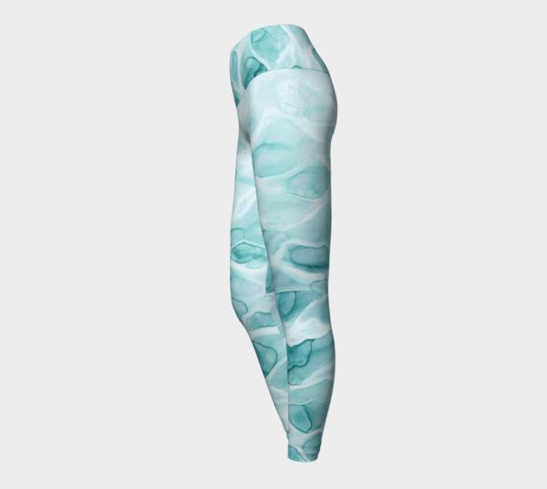Leggings Watercolor Sea Leggings 3