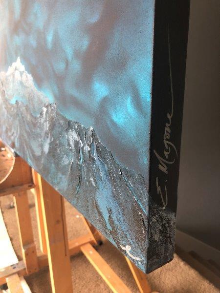 Manifest Original Painting Details