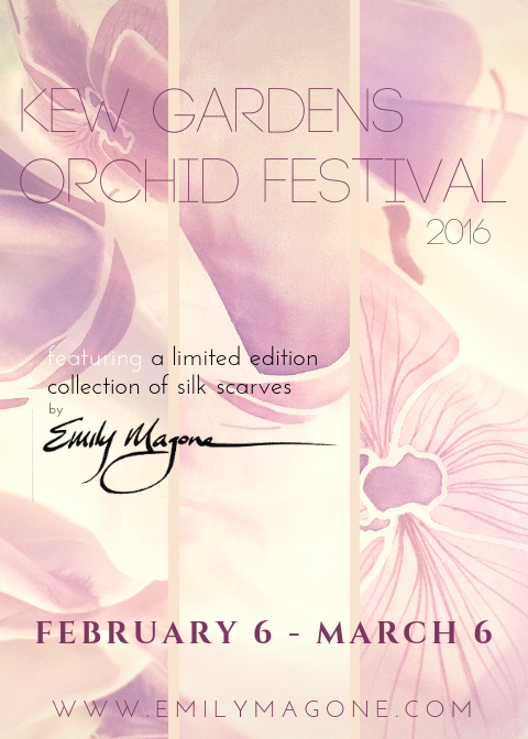 Emily Magone Releases Limited Edition Collection for the Kew Royal Botanical Gardens