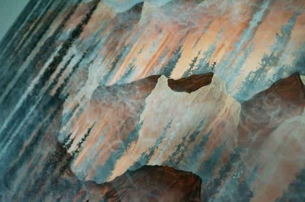 Original Painting Afterburn 1