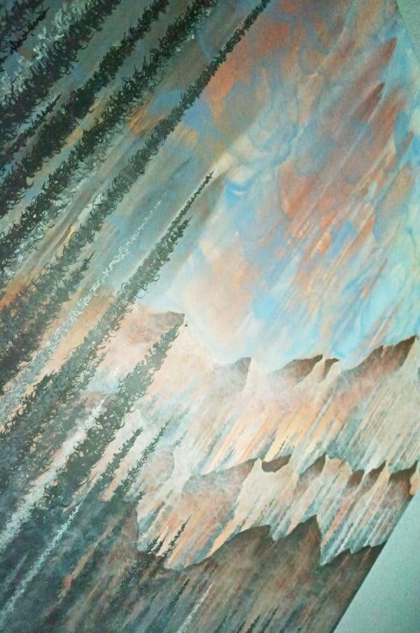 Original Painting Afterburn 8