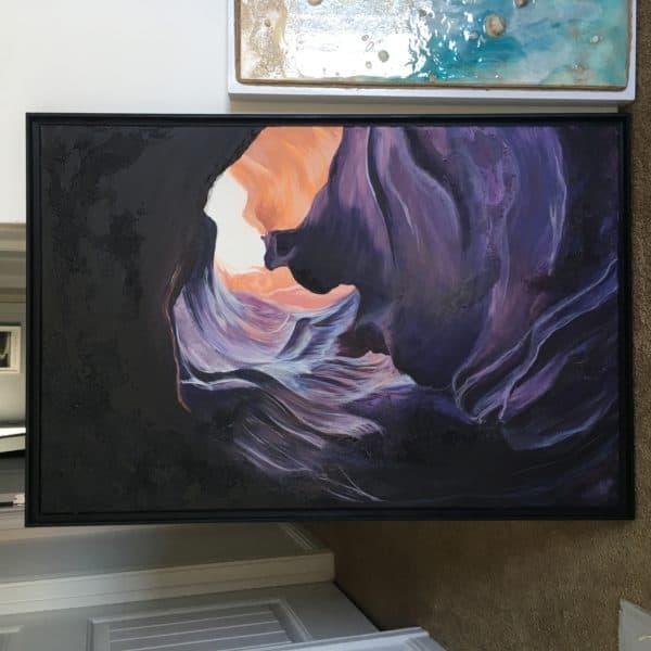 Original Painting Antelope Canyon Two 3
