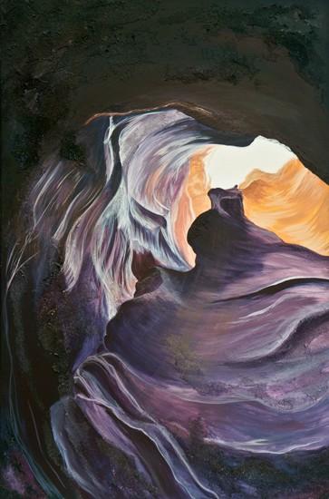 Original Painting Antelope Canyon Two 4