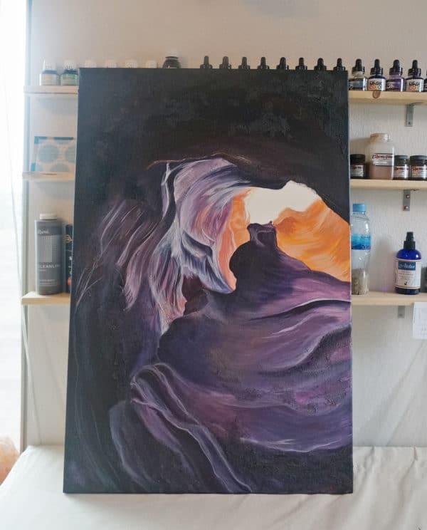 Original Painting Antelope Canyon Two 6