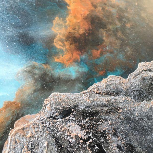Original Painting Nebula Fifteen 11