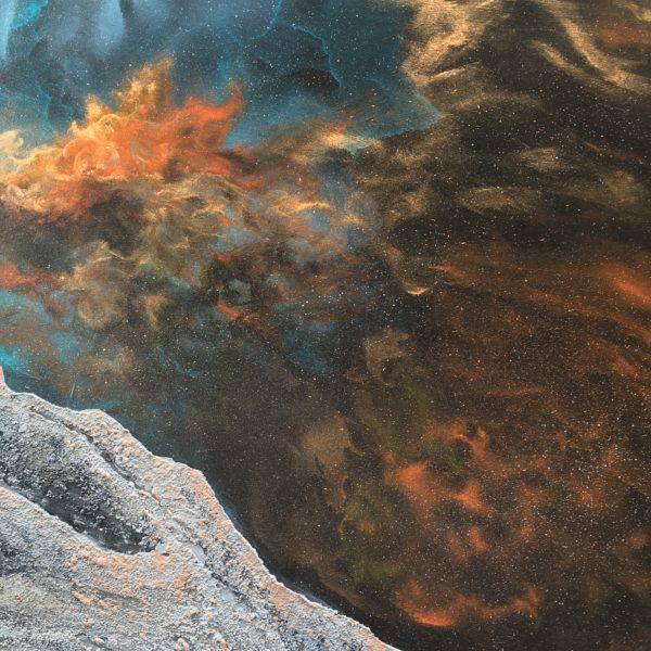 Original Painting Nebula Fifteen 12