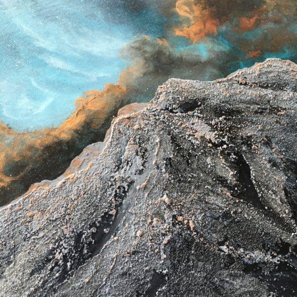 Original Painting Nebula Fifteen 2