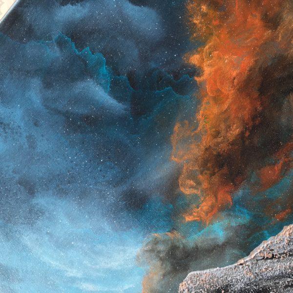 Original Painting Nebula Fifteen 3