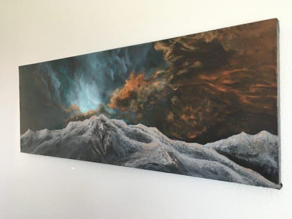 Original Painting Nebula Fifteen 6