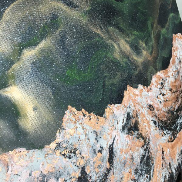 Original Painting Nebula Fourteen 5