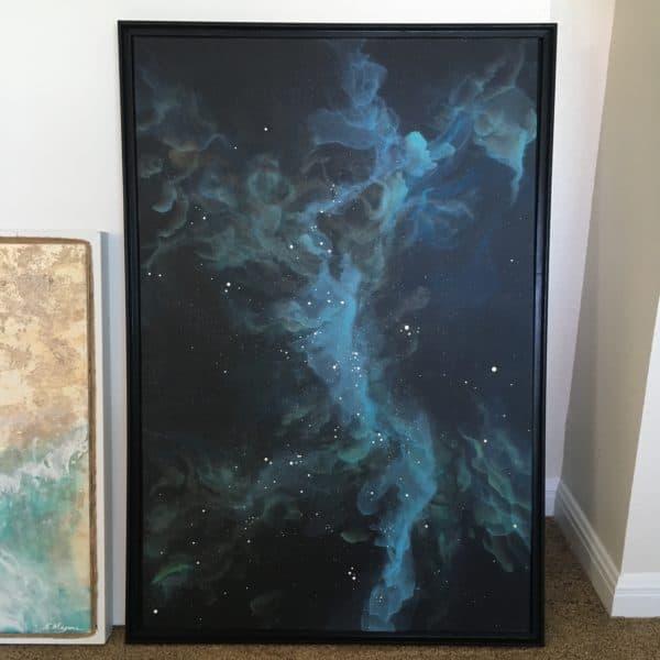 Original Painting Nebula Seven 6