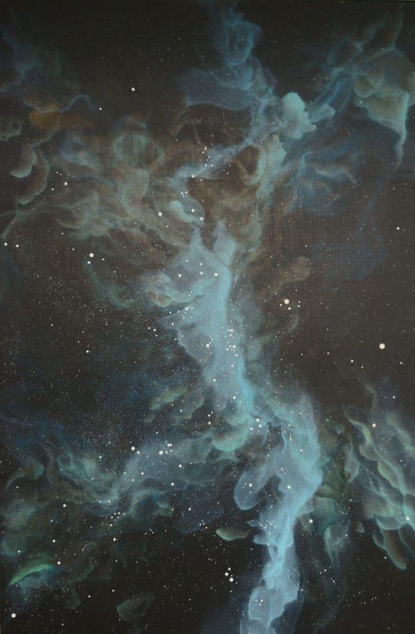 Original Painting Nebula Seven 7