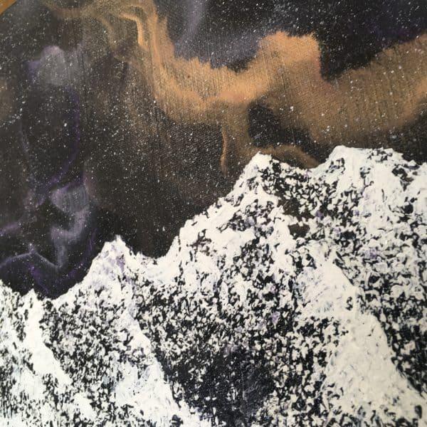 Original Painting Nebula Thirteen 2 2