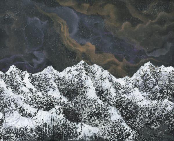 Original Painting Nebula Thirteen 8