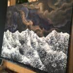 Original Painting Nebula Thirteen 9