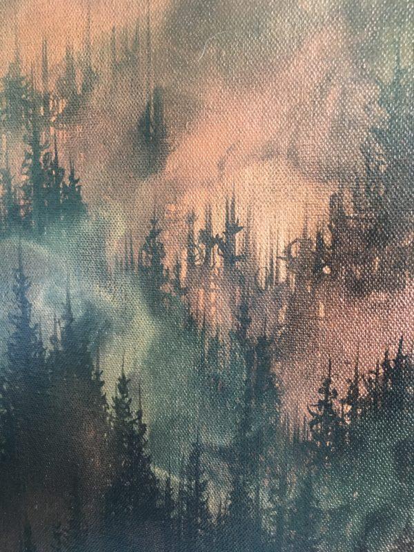 Original Painting Rebirth 10 2