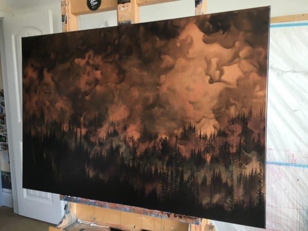 Original Painting Rebirth 3