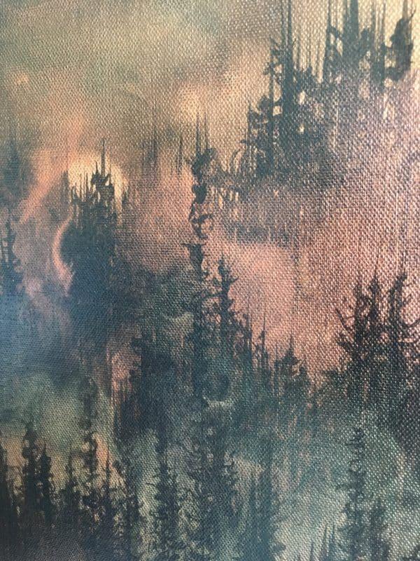 Original Painting Rebirth 9