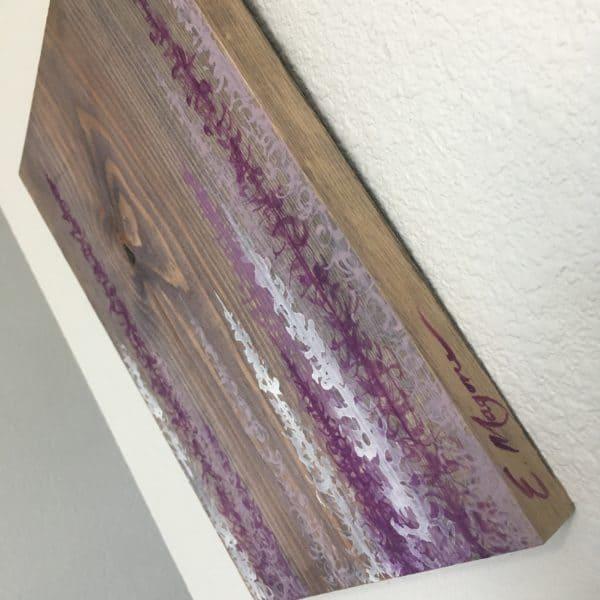 Original Painting Trees on Wood 12 4