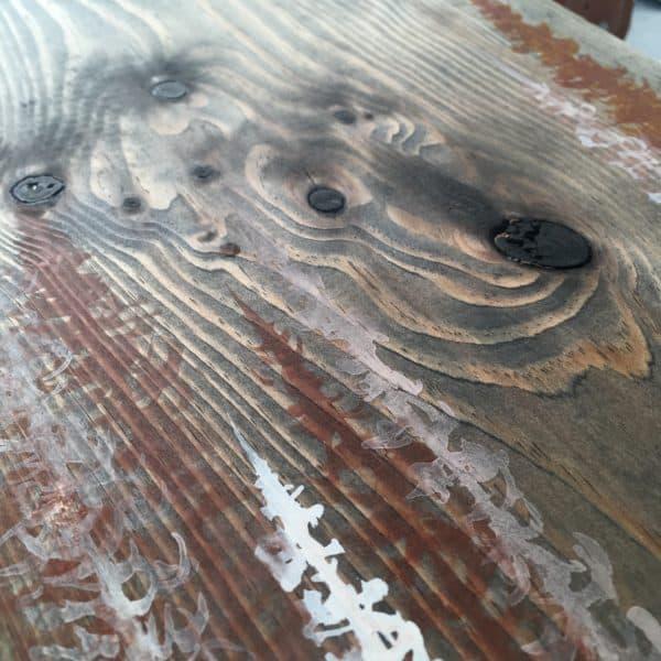 Original Painting Trees on Wood 4 2
