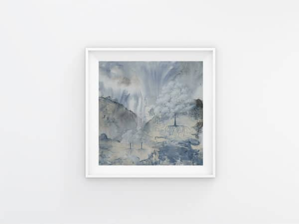 Prints Misted Trees One Print 4