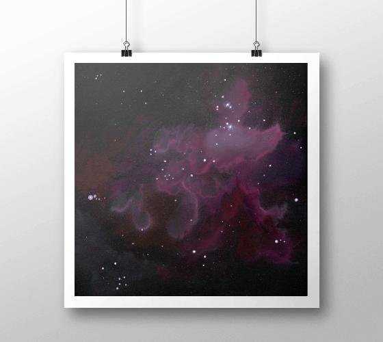 Prints Nebula One Print 3