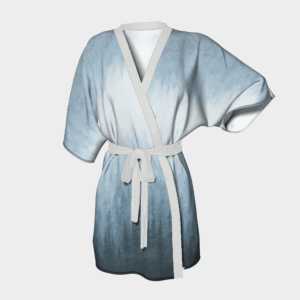 Robe Blue Forest Kimono Robe 2 1