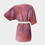 Robe Pink Abstract Kimono Robe 1
