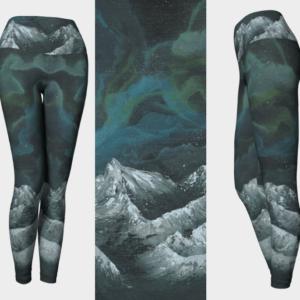 Space Mountains Leggings