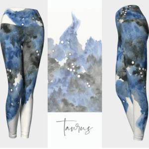Taurus Zodiac Leggings