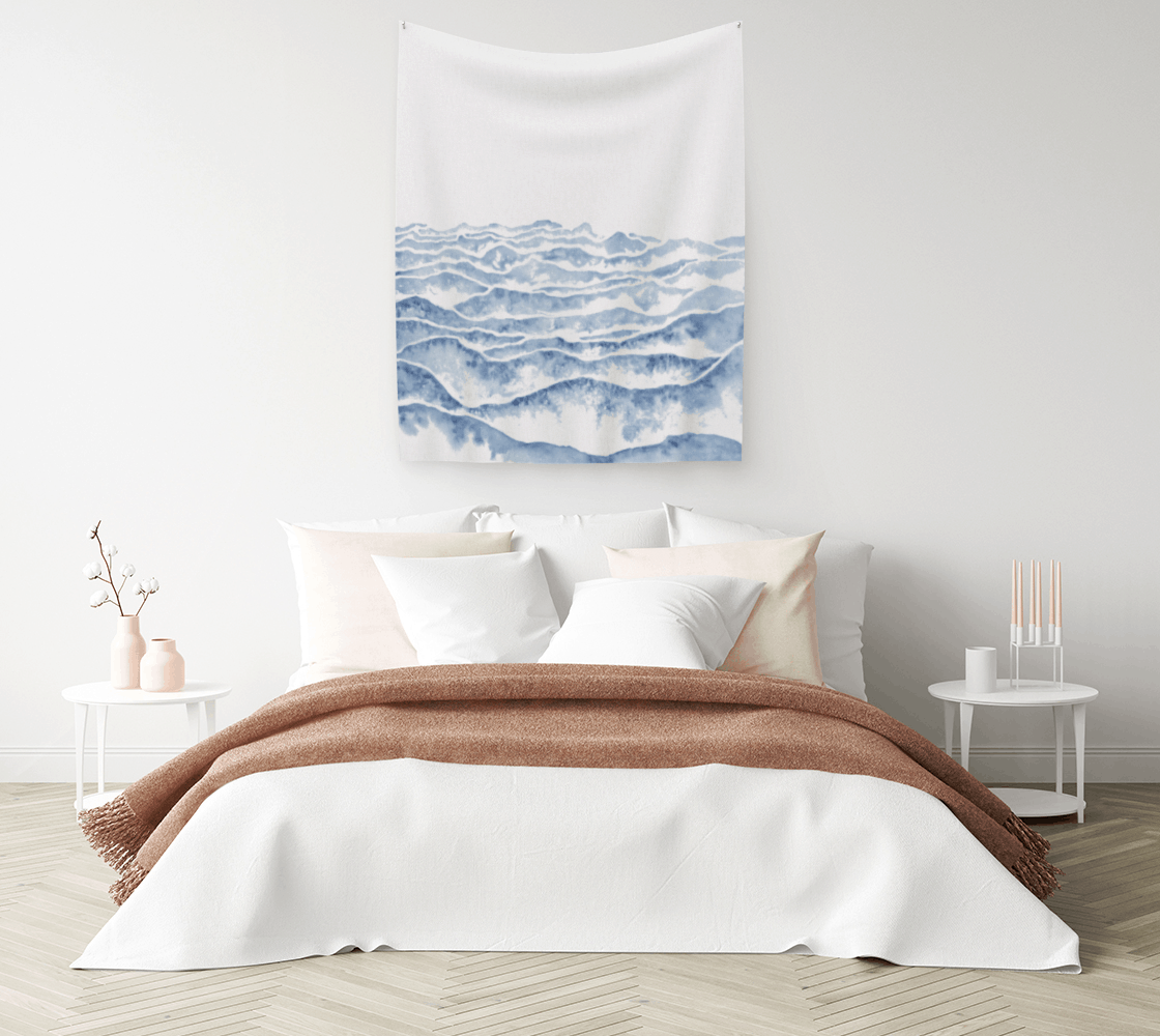 Tapestries for Minimalist Spaces