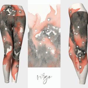Virgo Zodiac Leggings