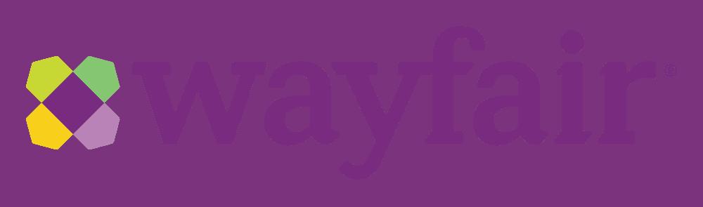 Wayfair logo with tagline